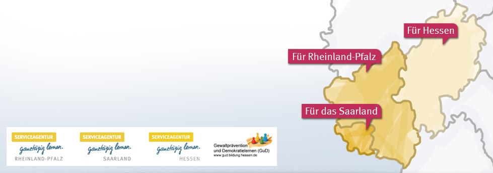 Partner in Rheinland-Pfalz, Hessen und Saarland