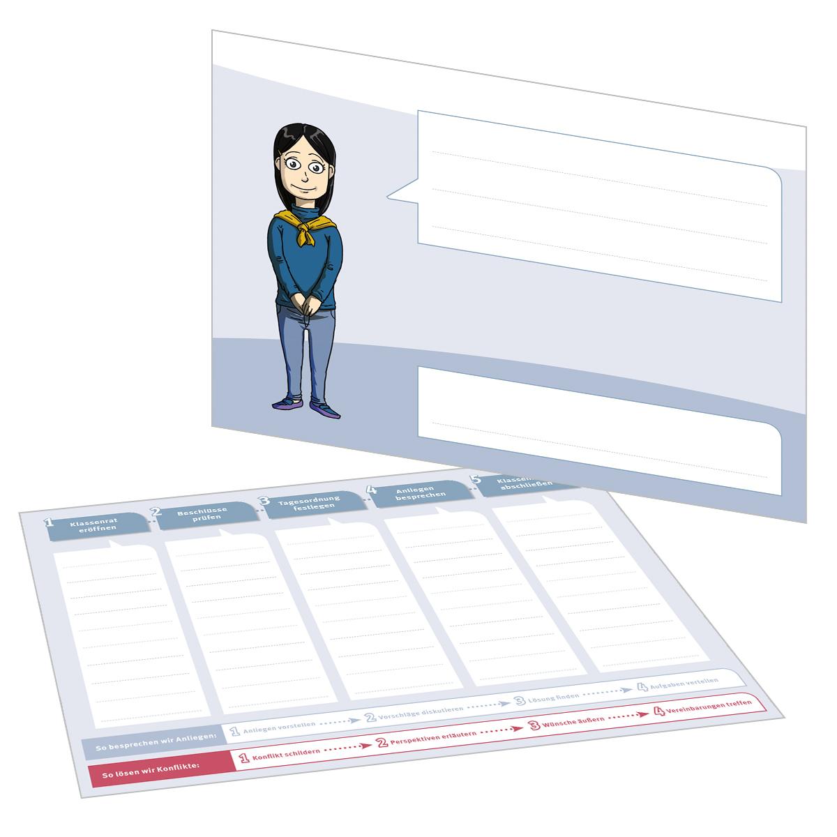 Blanko-Rollenkarte