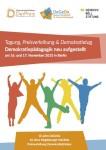 Titelbild zur Einladung 10 Jahre Deutsche Gesellschaft für Demokratiepädagogik