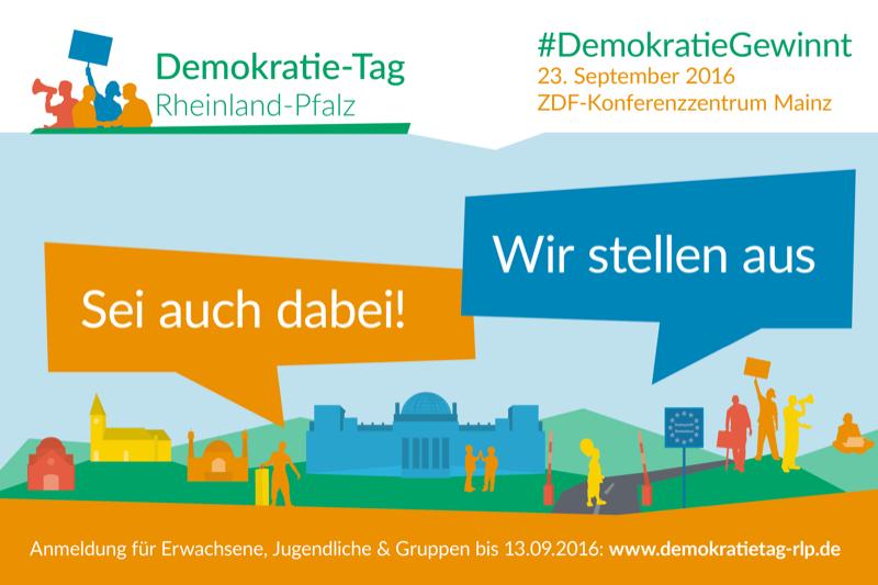 #DemokratieGewinnt am 23.09.2016 in Mainz