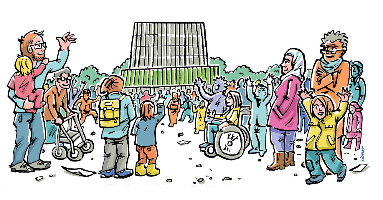 """Dabei sein: 3. bundesweiter Demokratietag """"Ich, Wir – anders: Normal?!"""""""