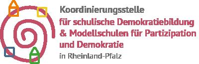Logo Koordinierungsstelle Demokratiebildung RLP