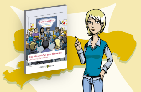 Die Initiative zum Klassenrat startet in Sachsen