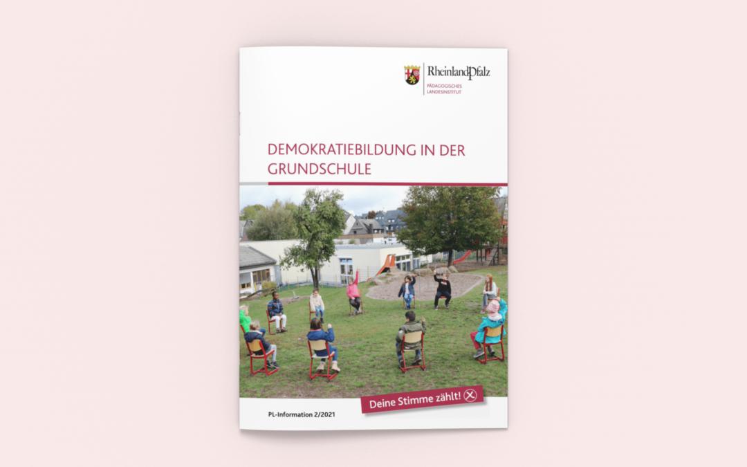 """Handreichung """"Demokratiebildung in der Grundschule"""""""